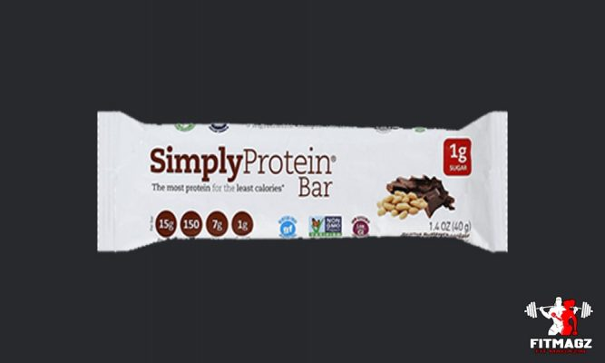 The Simply Protein Bar Peanut Butter Chocolate