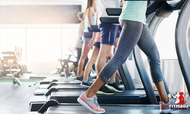 Running or walking helps build muscle quickly