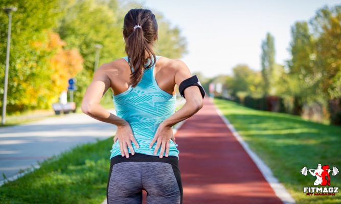 Causes of back pain after running