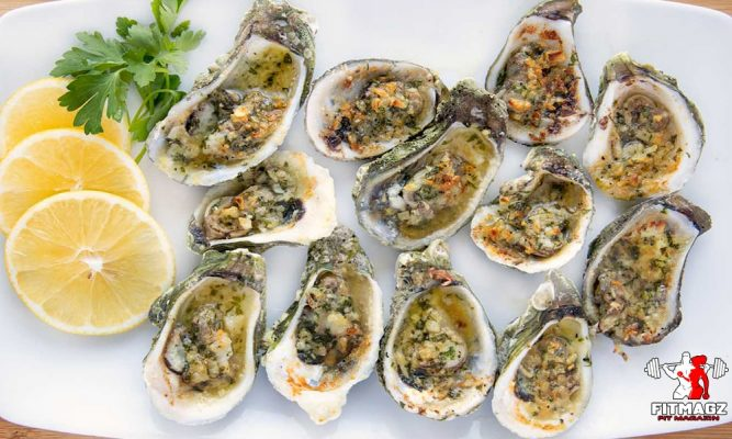 Best foods rich in zinc: Oysters
