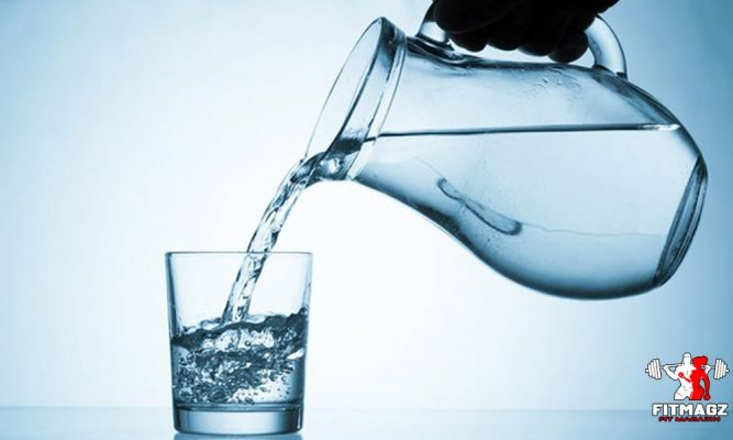 Don't forget to drink water throughout the day