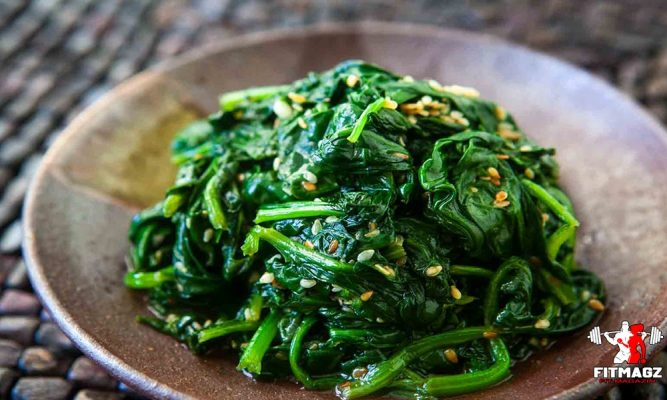 The nutritional value of spinach